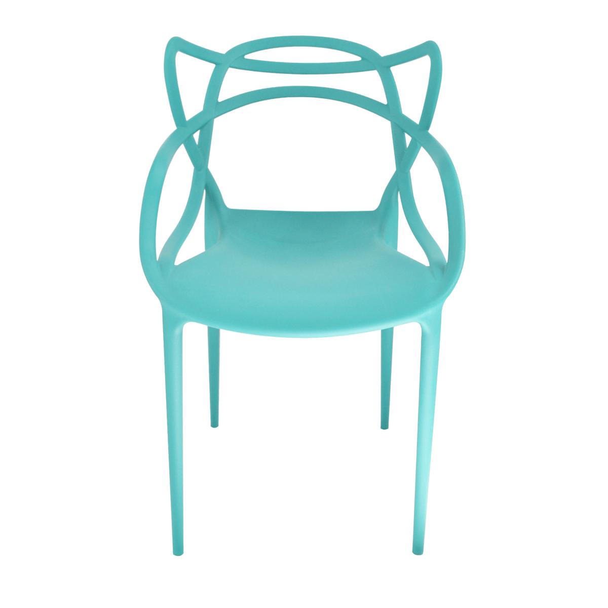 Cadeira Allegra Azul Turquesa/ Tiffany