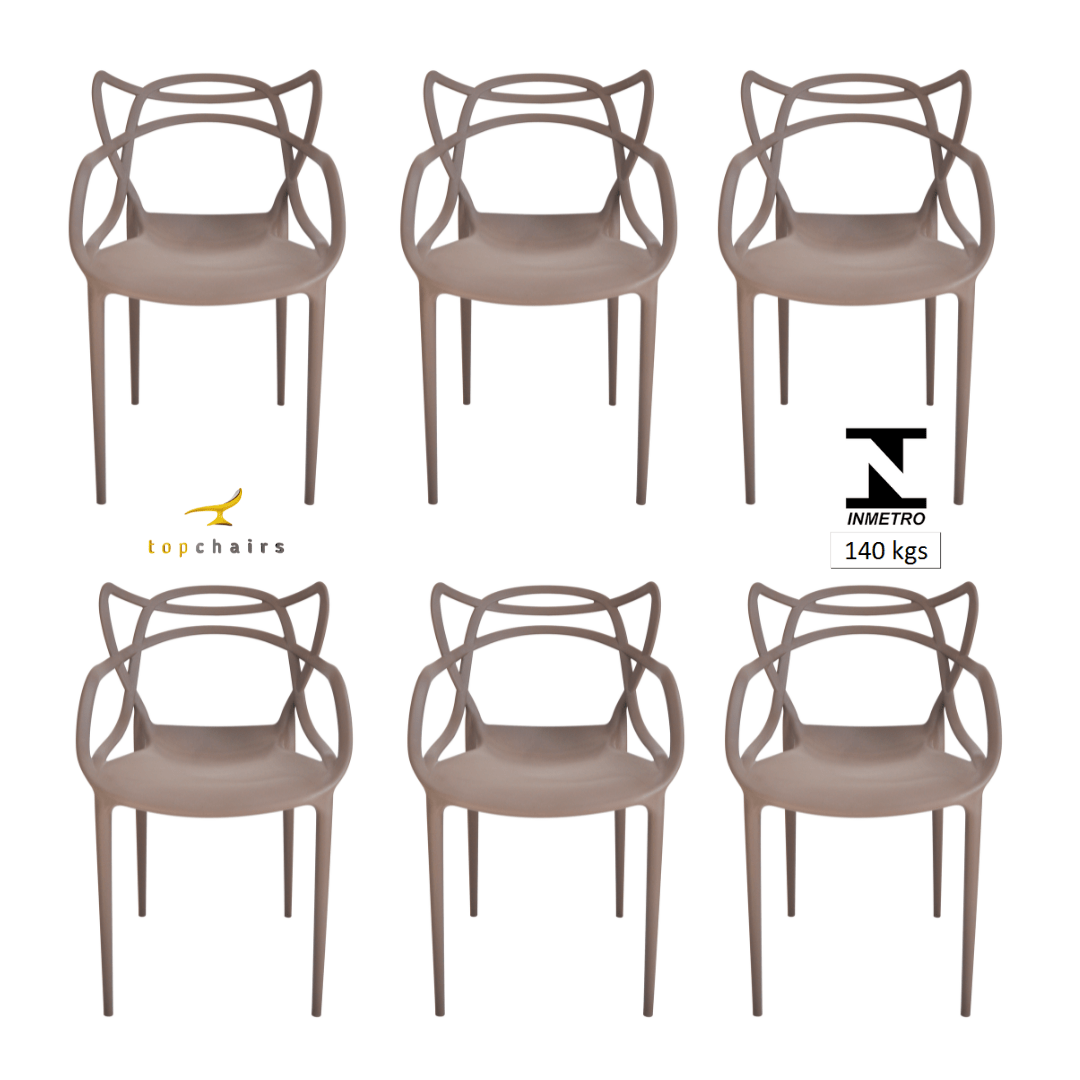 Cadeira Allegra Fendi - Kit com 6