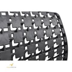 Cadeira 3D Outdoor Preta - kit com 4