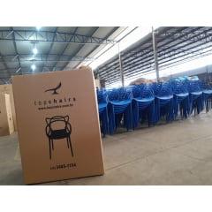 Cadeira Allegra Azul Bic