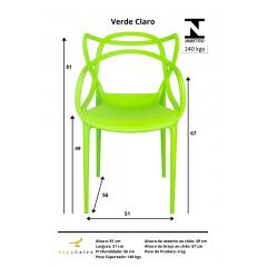 Cadeira Allegra verde claro