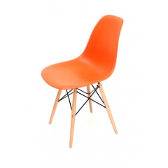 Cadeira Eiffel Wood Laranja