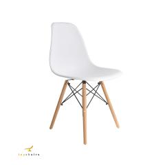 Cadeira Eiffel Wood Branca