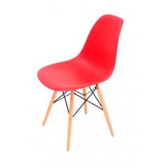 Cadeira Eiffel Wood Vermelha