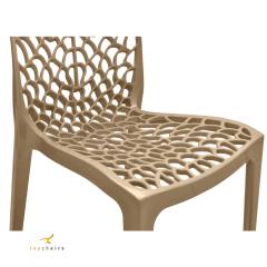 Cadeira Gruvyer Nude- Kit com 4