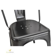 Cadeiras Tolix Iron Preta - Kit com 4